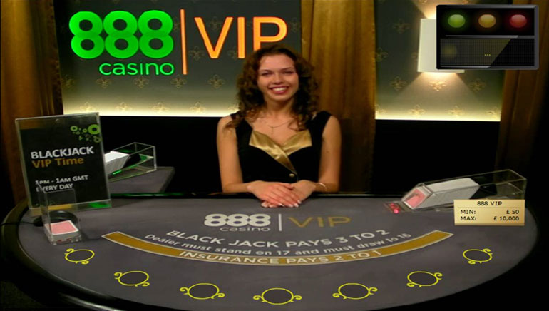 888 Casino stockt Live Dealer Gaming auf