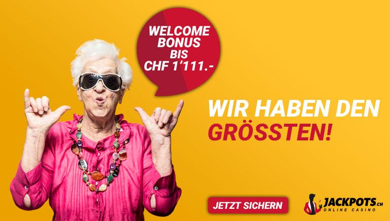 welcome bonus bis chf 1111