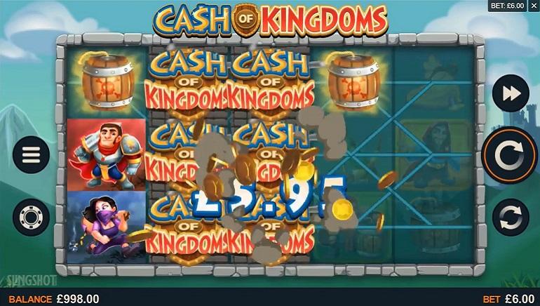 Microgaming's neueste Version von Cash of Kingdoms geht in den Einsatz